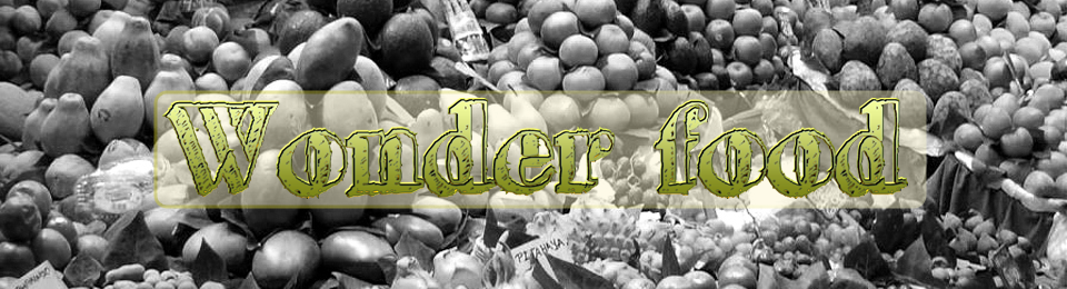 Wonder Food Blog